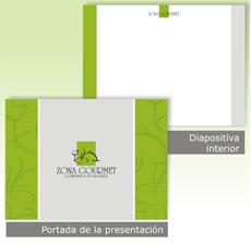diseño de fondos y plantillas de presentación en powerpoint
