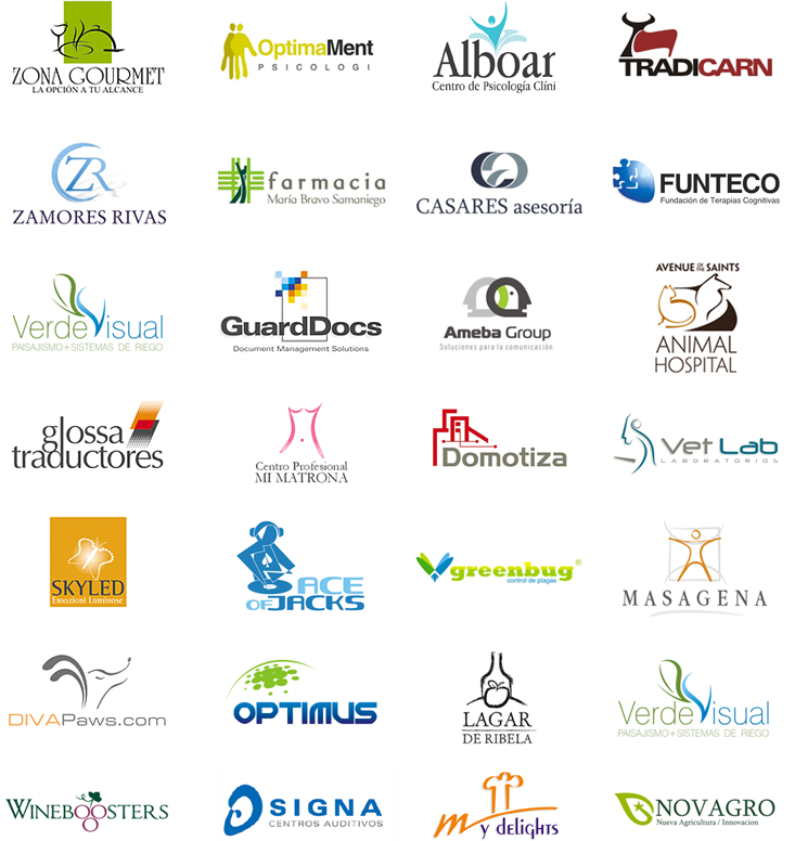 Diseño de logotipos para empresas, profesionales, negocios y organizaciones sociales